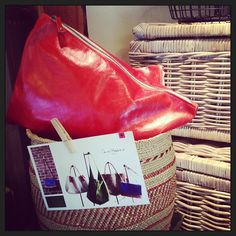 bright leather bags by @Ceri Hoover. the colors are coming back for the warm seasons!