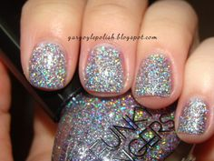 Funky Fingers Sand and Stilettos Holo Glitter