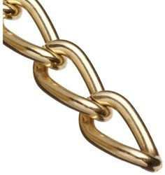 """Campbell 0712517 Hobby and Craft Twist Chain, Brass Plated, #250 Trade, 0.099"""" Diameter, 25 lbs Load Capacity, 33 Feet Mini Reel by Campbell Chain. $31.07. Available in brass or nickel plated."""