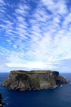 The towering dolerite columns of the Tasmania Island. | 34 razones por las que Australia es el lugar más hermoso en la tierra