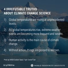 4 Irrefutable Truths About Climate Change Science Www Wri Org