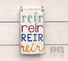 Cartel vintage   Reír - comprar online
