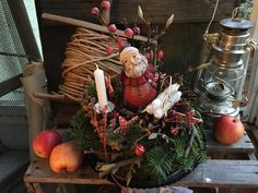Applaus für Onkel Nikolaus - Weihnachtsdekoration von FRIJDA im Garten - Aus einer Idee wurde Leidenschaft auf DaWanda.com