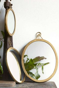 Magical Thinking Orion Mirror: http://www.stylemepretty.com/living/2015/10/10/spotted-on-saturday-50-under-50/