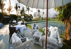 Field Notes - Dine and Design in Bali Restaurant Lounge, Cafe Design, Ubud, Luxury Villa, Beach Resorts, Beautiful Beaches, 6 Years, Dining, Outdoor Decor