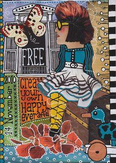 '14 november' collage art by sandravandergeest on flickr