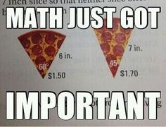 This just might help kids understand why math IS important...ha ha