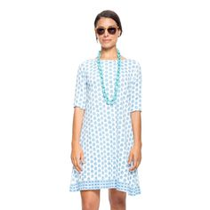 Placid Blue Annisa Tee Shirt Dress
