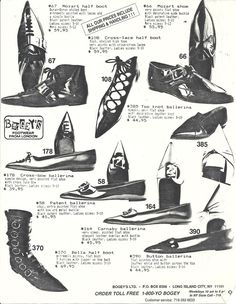 More Bogey's. Seriously--I'd STILL be ordering from this catalog if they were still around.    Desert Lily Vintage   
