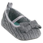 These pretty Mary Jane shoes perfect for dress up occasions and cable knit design is oh-so cozy.
