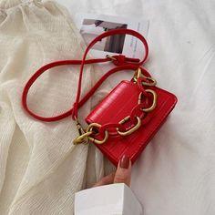 Fashion Chain PU Leather Women Tiny Shoulder Bag Stone Pattern Mini Korean Style Cross Body Handbags Ladies Party Coin Messengers – My WordPress Mini Handbags, Leather Handbags, Womens Designer Bags, Small Tote Bags, Red Handbag, Types Of Bag, Small Crossbody Bag, Mini Bag, Chain