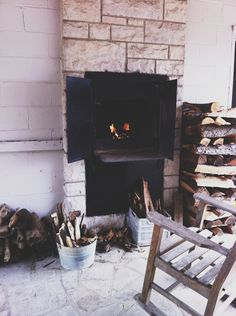 High Fire | Cabin | logs