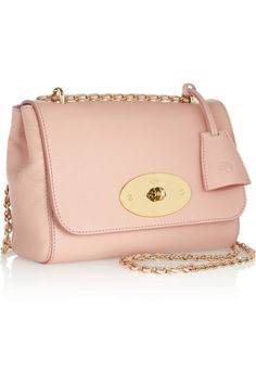 Mulberry|Lily textured-leather shoulder bag