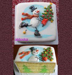 Christmas tree inside  Cake by aldoska
