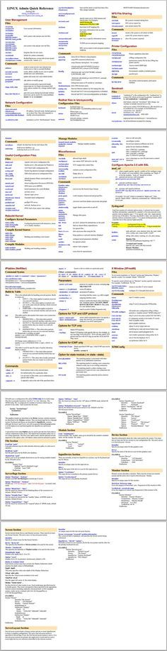 linux admin quick reference Source by Computer Coding, Computer Technology, Computer Programming, Computer Science, Computer Forensics, Computer Class, Medical Technology, Energy Technology, Technology Gadgets