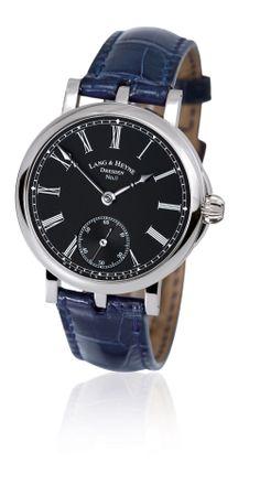 Uhr Friedrich III Stahl - Lang & Heyne