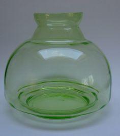 A.D. Copier - grote annagroene glazen vaas
