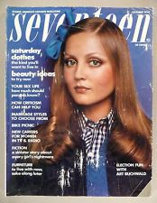 Seventeen Magazine - Oct, 1972