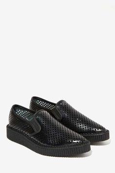 T.U.K. Brady Laser Cut Creeper - Shoes