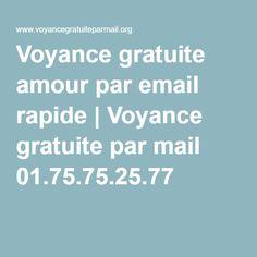 Voyance gratuite amour par email rapide | Voyance gratuite par mail 01.75.75.25.77