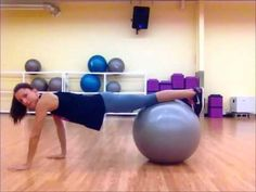 Stability Ball Core Workout!