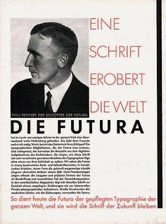 Paul Renner — Futura – 1927