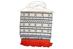 A beaded apron made out of glass seed beads in white, blue, black and beautifully ending with a fringe of red cotton threads. Apron comes from the Xhosa or. Xhosa, Cotton Thread, Making Out, Seed Beads, Apron, Ethnic, Outdoor Blanket, Red, Accessories