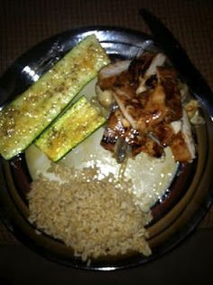 Kelly's Journey: Chicken Teriyaki over Onions and Mushrooms- WW-8points for chicken!!!