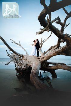 St_Simons_GA_Wedding_Photographers-Driftwood Beach Jekyll Island Weddings