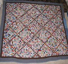 You may have noticed the button on my sidebar about the Postage Stamp Quilt Swap going on this year. Postage Stamp Quilt, Postage Stamps, Scrappy Quilts, Quilting, Square Quilt, Quilt Patterns, Projects To Try, Charmed, Challenge