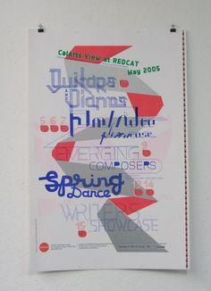 CalArts View at REDCAT   REDCAT Posters