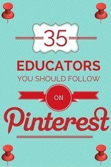 35 Educators You Should Follow on Pinterest | образование, электронное обучение | Scoop.it
