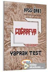 2017 ÖABT Coğrafya Öğretmenliği Çek Kopart Yaprak Test Yediiklim Yayınları