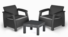 A small elegant , classic outdoor set that would last almost forever from ideal for small spaces or that little corner in your garden