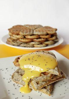 Waffle Iron, Cake Recipes, Pancakes, Good Food, Eggs, Sweets, Beef, Cookies, Breakfast