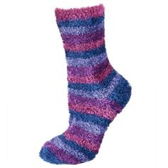 Striped extra plush socks | WOMEN \ Socks | SOXO socks, slippers, ballerina, tights online shop