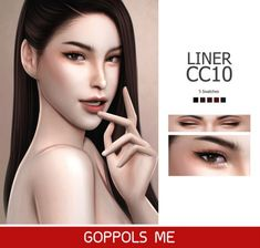 GPME Liner cc10 by GOPPOLS Me for The Sims 4
