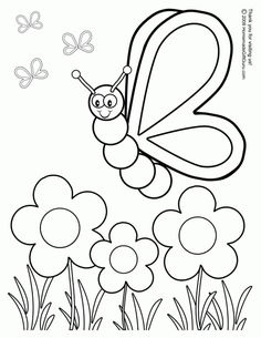 printable spring coloring pages - Free Printable Color Sheets