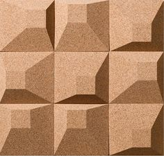 Cork Tiles - Collection_03 by Granorte