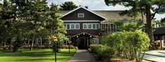 Grandview Lodge, Nisswa, Minnesota; 1) wide variety of golf course options, 2) the spacious cabins and cottages are good for families and groups, 3) fun in any season, 4) each time we have been there the accommodations are updated and clean, 5) the Glacial Waters Spa tucked in the woods.