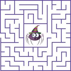 Kindergarten Halloween Maze Worksheet are a astonishing learning tool for educators and students to use. View and print any of our Halloween mazes that kids are sure to enjoy. Easter Games For Kids, Halloween Activities For Kids, Craft Projects For Kids, Work Activities, Halloween Maze, Halloween Haunted Houses, Halloween Crafts, Halloween Party, Maze Puzzles