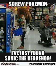 Screw Pokemon I just found Sonic funny meme   PMSLweb