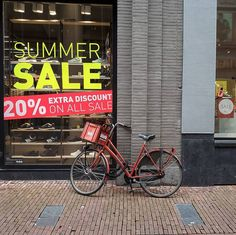 #lackoj #shopping #sale #discount #onbycicle #alone #typicaldutch #amsterdam #netherland