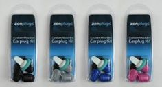 These nine items will change the way you handle air travel.: ZenPlugs Molded Ear Plugs