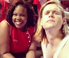 Samcedes is all that I see..... #Glee