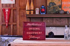 Vintage Weatherhead Fittings Storage Box, Jewelry Box, Makeup Storage