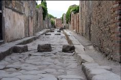 Un passage pour piéton, Pompeï