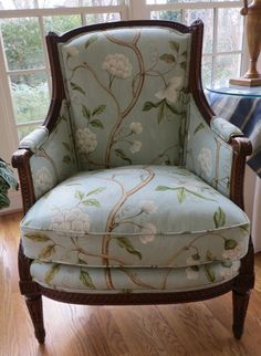 Colefax and Fowler Snow Tree Bergere Totally by WydevenDesigns