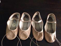 Como hacer zapatillas de media punta para ballet