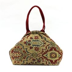 Atenti Betty Empire Handbag at Artfully Adorned...Tapestry Bag